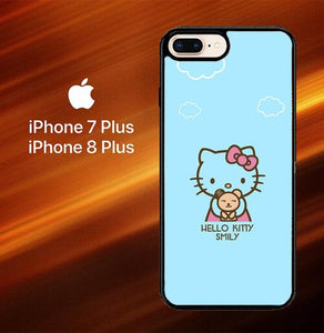 Hello Kitty Smily O0375 hoesjes iPhone 7 Plus , iPhone 8 Plus