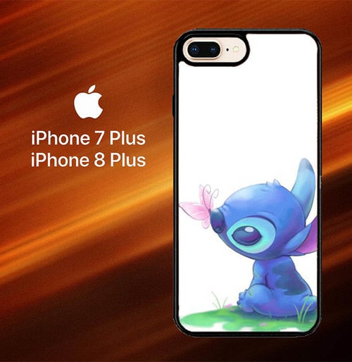 Stitch's Spring O0411 hoesjes iPhone 7 Plus , iPhone 8 Plus