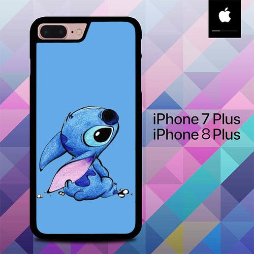 Stitch O0412 hoesjes iPhone 7 Plus , iPhone 8 Plus