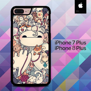 Hairy Babies Big Hero 6 O0468 hoesjes iPhone 7 Plus , iPhone 8 Plus