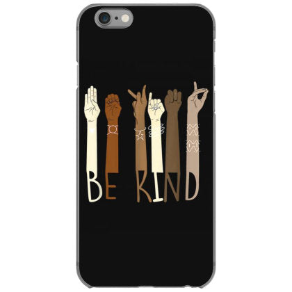 be kind hand sign language teachers melanin interpreter asl iphone 6 6s hoesjes