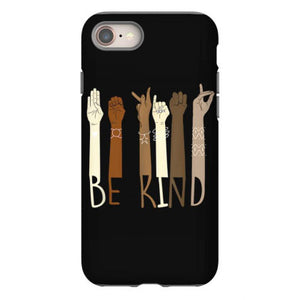 be kind hand sign language teachers melanin interpreter asl iphone 8 hoesjes