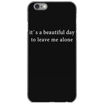 beautiful day alone iphone 6 6s hoesjes