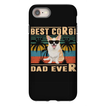 best dog dad ever corgi funny fathers day gift iphone 8 hoesjes