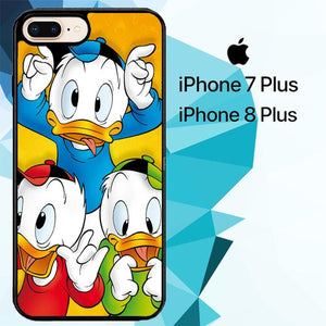 donald duck Z1486 hoesjes iPhone 7 Plus , iPhone 8 Plus