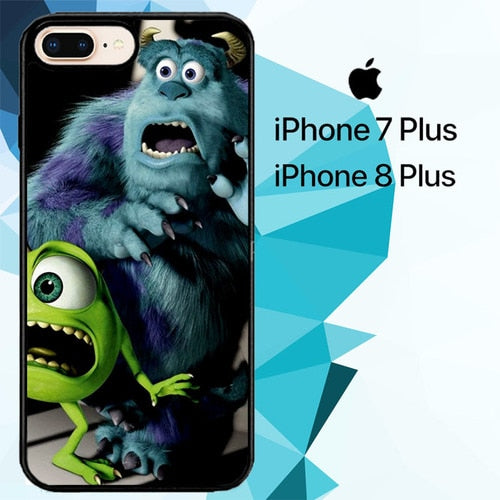 monster inc Z1515 hoesjes iPhone 7 Plus , iPhone 8 Plus