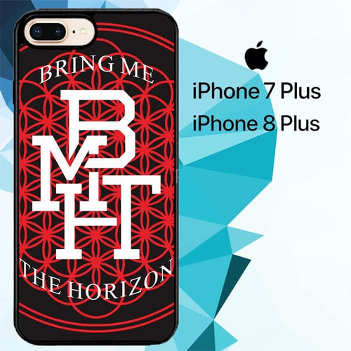 Bring Me the Horizon Z2112 hoesjes iPhone 7 Plus , iPhone 8 Plus