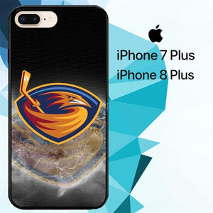 Atlanta Thrashers Z3165 hoesjes iPhone 7 Plus , iPhone 8 Plus