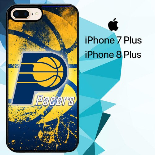 Indiana Pacers Z3176 hoesjes iPhone 7 Plus , iPhone 8 Plus