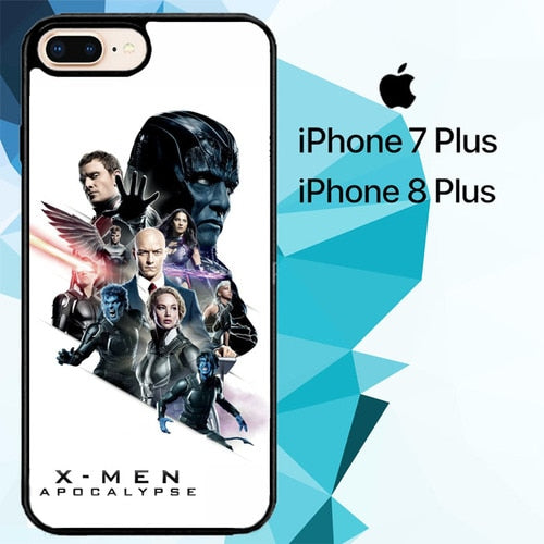 x-men apocalypse Z3631 hoesjes iPhone 7 Plus , iPhone 8 Plus