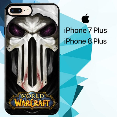 rogue world of warcraft Z3684 hoesjes iPhone 7 Plus , iPhone 8 Plus