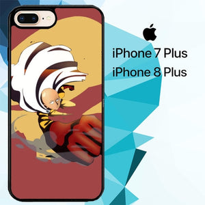 one punch man Z3715 hoesjes iPhone 7 Plus , iPhone 8 Plus