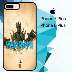 groot guardian of galaxy Z3906 hoesjes iPhone 7 Plus , iPhone 8 Plus