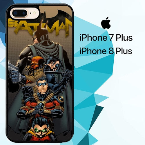 Batman And Robins Z4430 hoesjes iPhone 7 Plus , iPhone 8 Plus