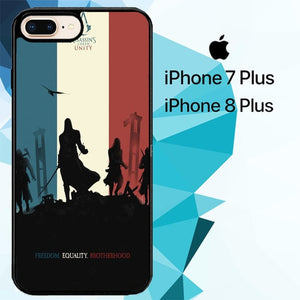 Assassins Creed 3 Z4436 hoesjes iPhone 7 Plus , iPhone 8 Plus
