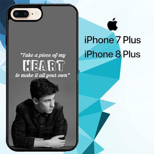 shawn mendes song Z4457 hoesjes iPhone 7 Plus , iPhone 8 Plus