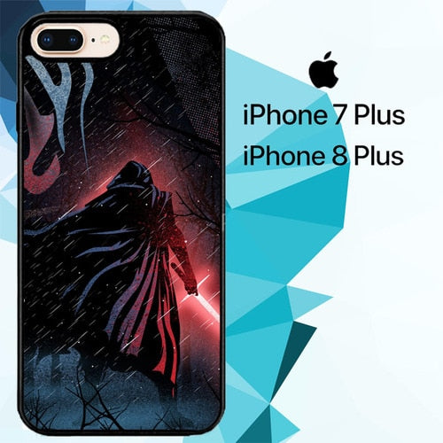 star wars Kylo Ren Z4506 hoesjes iPhone 7 Plus , iPhone 8 Plus