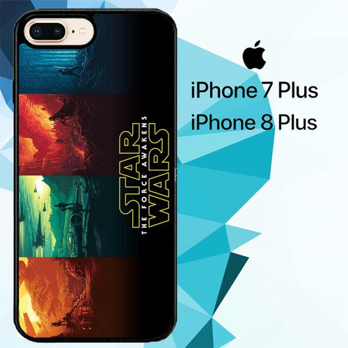 Star Wars The Force Awakens Z4520 hoesjes iPhone 7 Plus , iPhone 8 Plus
