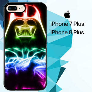 Darth Vader Star Wars Glow Z4523 hoesjes iPhone 7 Plus , iPhone 8 Plus