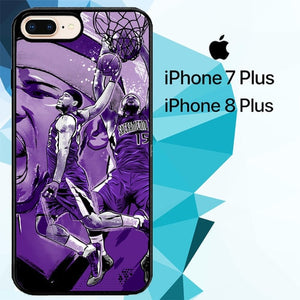 DeMarcus Cousins art Z4769 hoesjes iPhone 7 Plus , iPhone 8 Plus