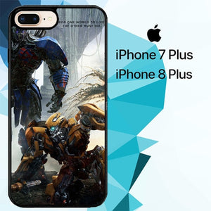 transformers the last knight Movie Z5001 hoesjes iPhone 7 Plus , iPhone 8 Plus