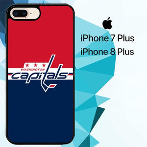 washington capitals Z5047 hoesjes iPhone 7 Plus , iPhone 8 Plus