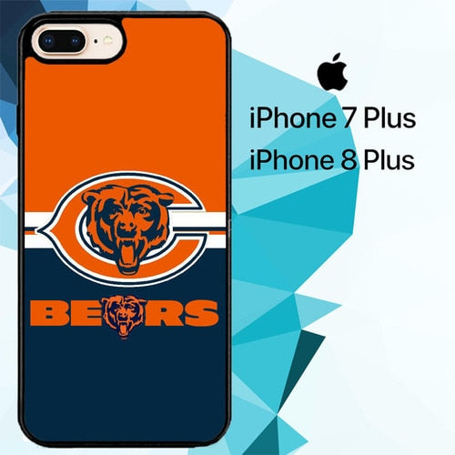 Chicago beers logo Z5303 hoesjes iPhone 7 Plus , iPhone 8 Plus