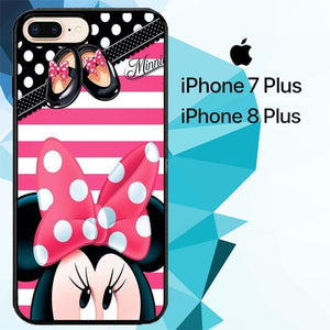 minnie mouse sweet Z5363 hoesjes iPhone 7 Plus , iPhone 8 Plus