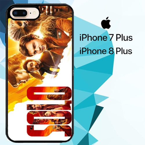 solo a star wars story Z7090 hoesjes iPhone 7 Plus , iPhone 8 Plus