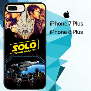 Solo A Star Wars Story 2018 Z7093 hoesjes iPhone 7 Plus , iPhone 8 Plus