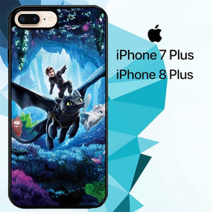 how to train your dragon Z4254 hoesjes iPhone 7 Plus , iPhone 8 Plus