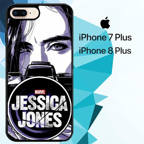 Marvel Jessica Jones Z4260 hoesjes iPhone 7 Plus , iPhone 8 Plus