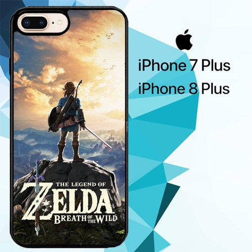 the legend of zelda breath of the wild Z4315 hoesjes iPhone 7 Plus , iPhone 8 Plus