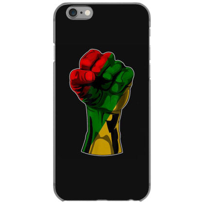 black history t shirt month fist gift women iphone 6 6s hoesjes