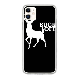 buck off funny iphone 11 hoesjes