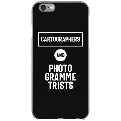 cartographers photogrammetrists job title gift iphone 6 6s hoesjes