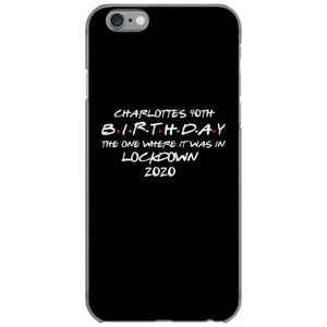 charlotte s 40th birthday iphone 6 6s hoesjes