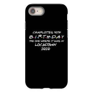 charlotte s 40th birthday iphone 8 hoesjes