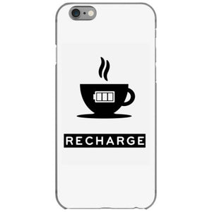 coffee recharge iphone 6 6s hoesjes
