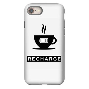 coffee recharge iphone 8 hoesjes