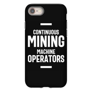 continuous mining machine operator job title gift iphone 8 hoesjes