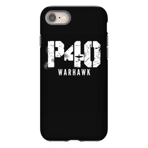 curtiss p 40 warhawk airplane aviation iphone 8 hoesjes