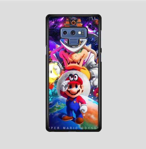 coque custodia cover fundas hoesjes j3 J5 J6 s20 s10 s9 s8 s7 s6 s5 plus edge B37198 Super Mario Odyssey! FJ0498 Samsung Galaxy Note 9 Case