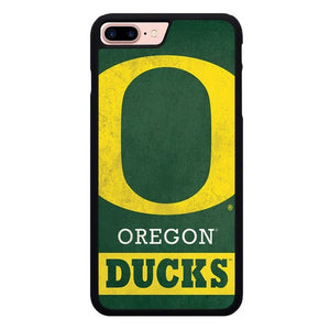 Oregon Ducks Logo X00046 hoesjes iPhone 7 Plus , iPhone 8 Plus