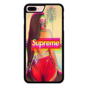 Supreme Fond Ecran X00105 hoesjes iPhone 7 Plus , iPhone 8 Plus