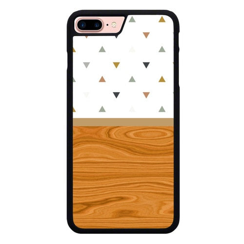 Unique Wood Pattern X00114 hoesjes iPhone 7 Plus , iPhone 8 Plus
