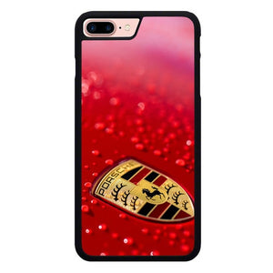 Porsche Red X00148 hoesjes iPhone 7 Plus , iPhone 8 Plus