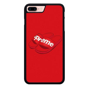 Supreme Flip Flops X00204 hoesjes iPhone 7 Plus , iPhone 8 Plus