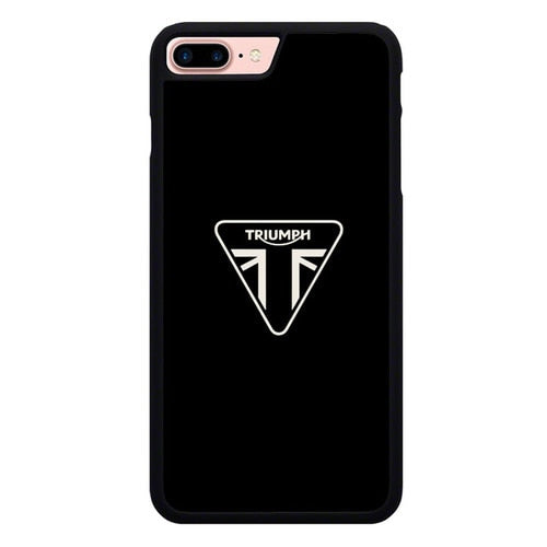triumph motorcycle logo X00237 hoesjes iPhone 7 Plus , iPhone 8 Plus
