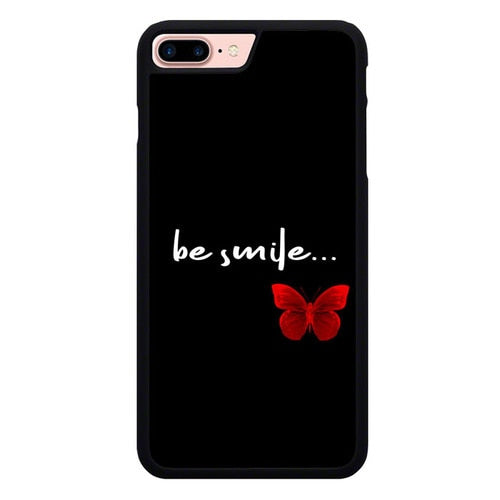 Red Butterfly X00399 hoesjes iPhone 7 Plus , iPhone 8 Plus